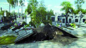 czerwcowe zdarzenia pogodowe mocno dotknęły nasielską gminę