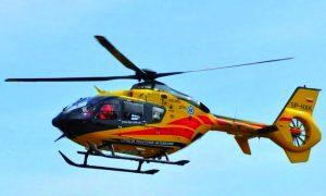 W samym środku miasta doszło do lądowania helikoptera służb ratunkowych